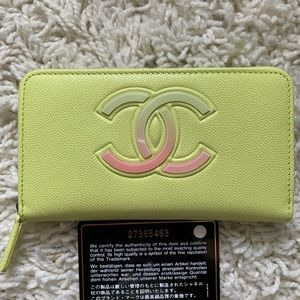 Chanel Wallet 4 Card Slot